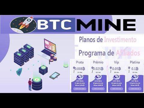 [ HyIp BTC Mine ] Como ganhar Satoshis BTC no cadastro | Mineradora  Pagando no Free | Home Office