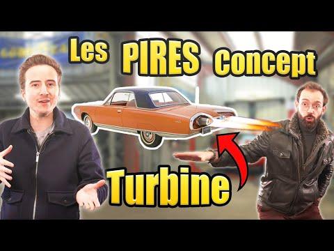 Les PIRES concepts automobiles (dont une voiture avec un réacteur)