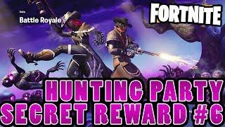 Hunting Party #6 Secret Banner (FORTNITE SEASON 6 WEEK 6 BATTLE PASS CHALLENGE)
