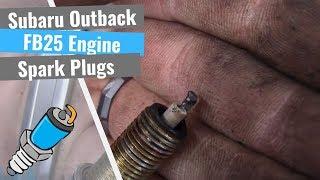 Subaru Outback Repair Series: #2 Replacing Spark Plugs