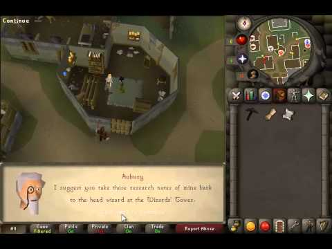 Rune mysteries osrs 2007 easy old school runescape quest guide.