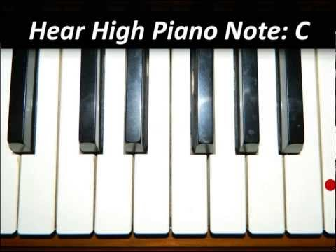 Hear Piano Note - Highest C