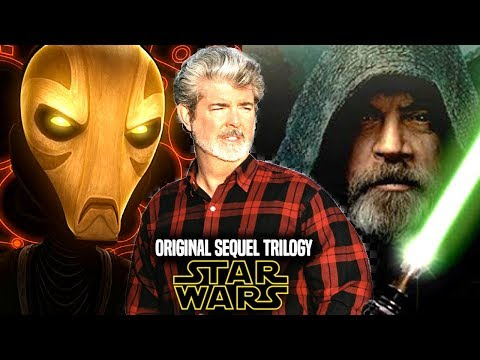 Star Wars Original Sequel Trilogy By George Lucas Explained Revealed Star Wars News Youtube