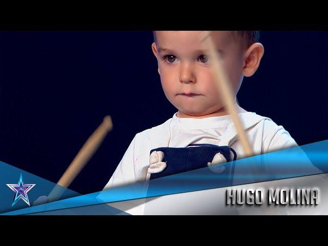 Con 2 AÑOS, es el concursante MÁS JOVEN de la HISTORIA   Audiciones 1   Got Talent España 5 (2019)
