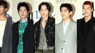 f5 5 models sung joon kim young kwang lee soo hyuk kim woo bin hong jong hyun