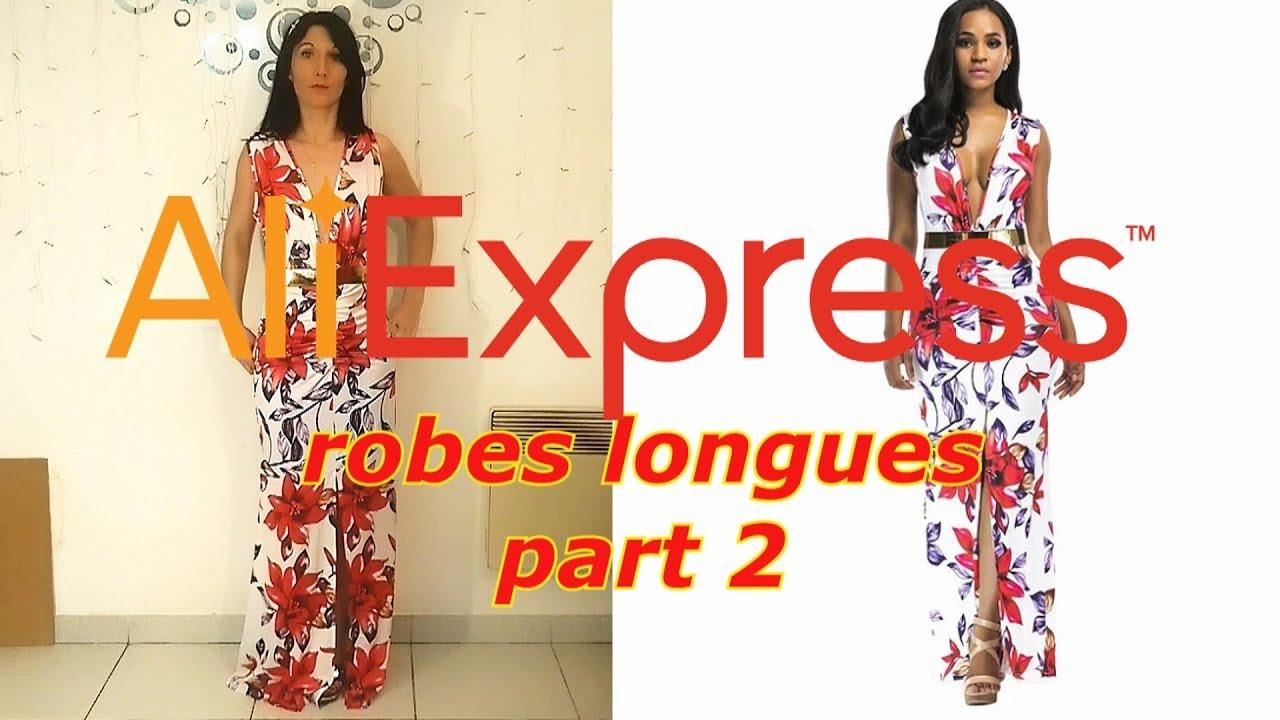 ea03db61c6bd6 Ma revue Aliexpress 💚 robes longues 👗 partie 2 ( robes de soirée, de  cérémonie, d'été...)