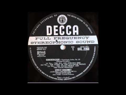 Rimsky Korsakov, Scheherazade, 1,2,3mov, Ernest Ansermet, Cond