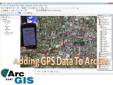 How to add GPX file to Arcgis /GPS data into ArcGis