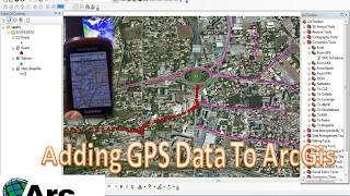 how to add gpx file to arcgis gps data into arcgis