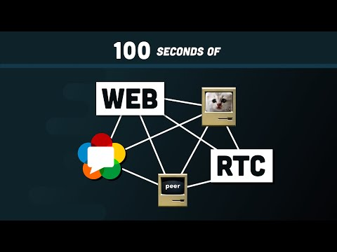 WebRTC in 100 Seconds // Build a Video Chat app from Scratch