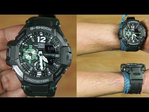 Casio G-Shock Gravity Master GA-1100-1A3 Twin Sensor : UNBOXING
