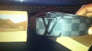 $16 Louis Vuitton LV Damier Replica Fake Belt (iOffer) Thumbnail