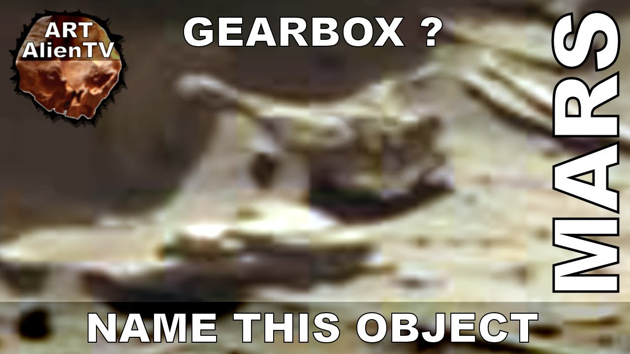 Gearbox Found on Mars ? What is this object ? SD1