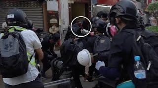 HK riots: 90 seconds tell you why the shot was justified 90秒告訴你為什麼警察不得不開槍