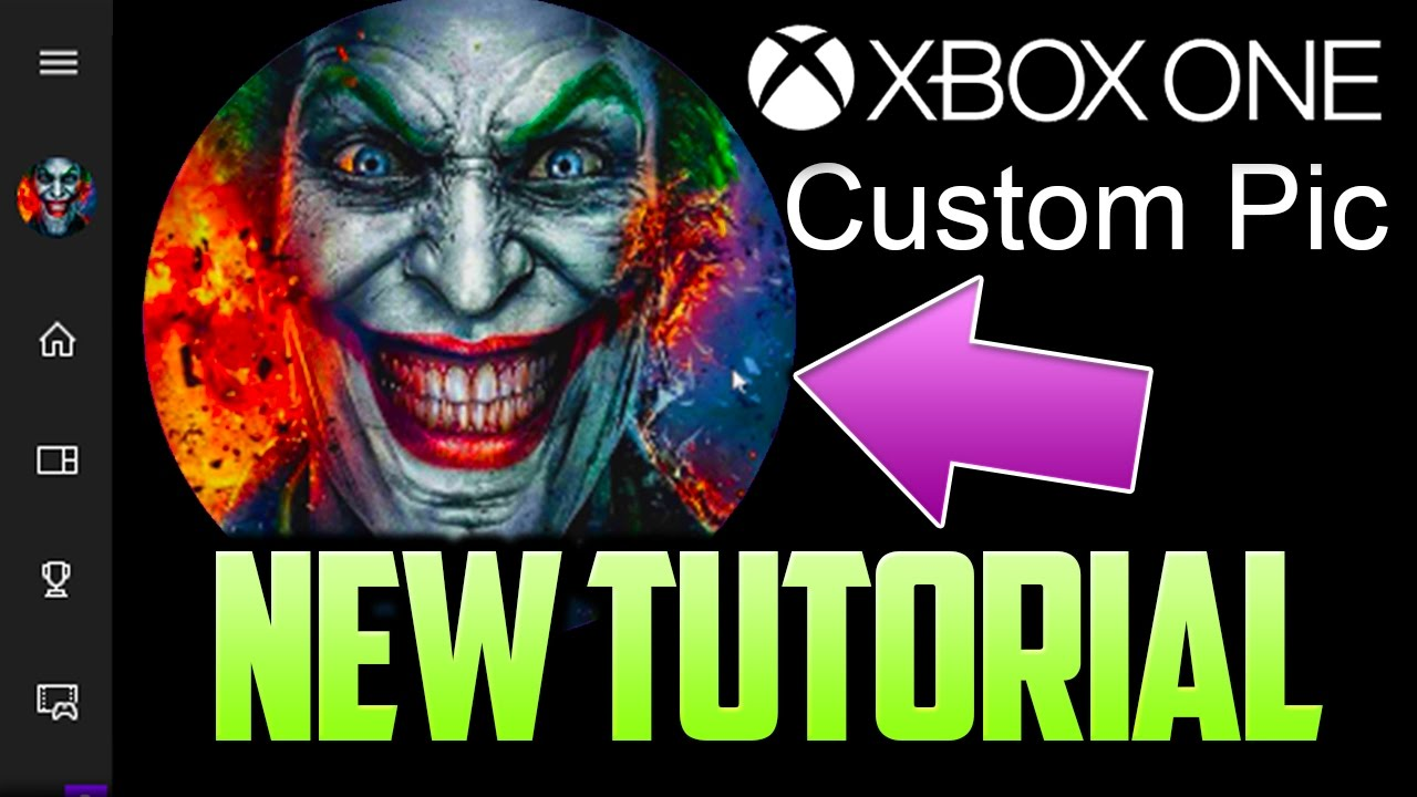 xbox one new custom gamer pic tutorial new easy method youtube. Black Bedroom Furniture Sets. Home Design Ideas