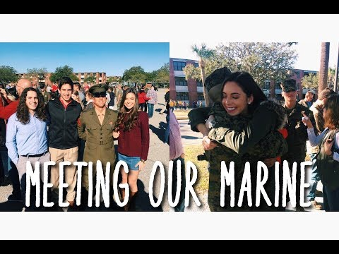 MEETING OUR MARINE | Parris Island, SC