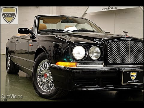 1998 Bentley Azure Convertible #X61683 | MVL leasing.com - Toronto Exotics
