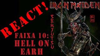 REACT Senjutsu Faixa 10: Hell On Earth - Iron Maiden Novo Álbum 2021