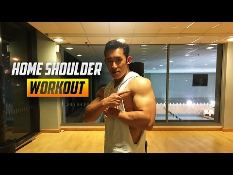 Home Shoulder Workout 2017 - No Weights Or Equipment Required