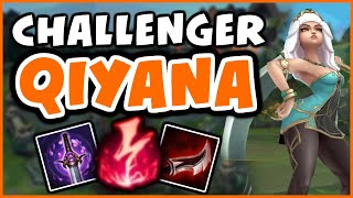 CHALLENGER QIYANA COMMENTARY 9.18 - League of Legends
