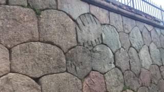 Полигональная кладка камней в Кронштадте ч.1