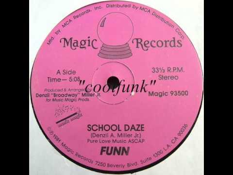 """Funn - School Daze (12"""" Funk 1981)"""