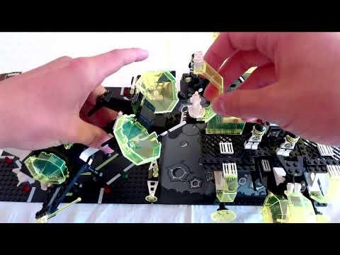 Der ἄλφα Centauri Outpost von Blacktron am Rande der Galaxie, die Lego 6988 #LegoSpace