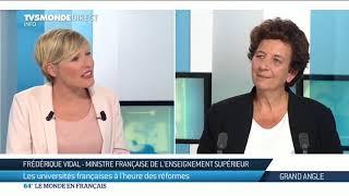 Frédérique Vidal : Parcoursup, l'heure du bilan