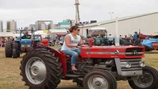 Tractor Skills Competition Edendale Crank-up