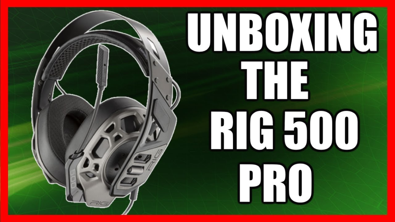 Unboxing Rig 500 Pro