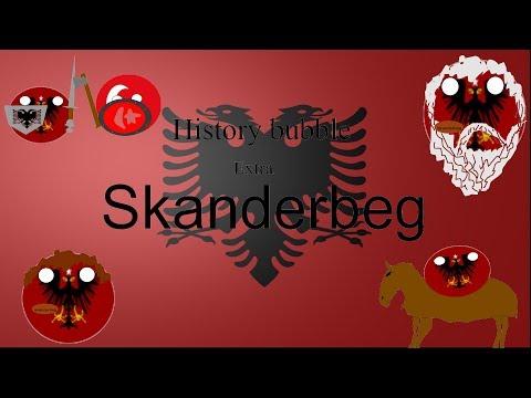 History bubble extra Skanderbeg (Albania)