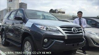 Đánh giá xe Toyota Fortuner 2018 2019 G máy dầu số sàn - KM giá tốt