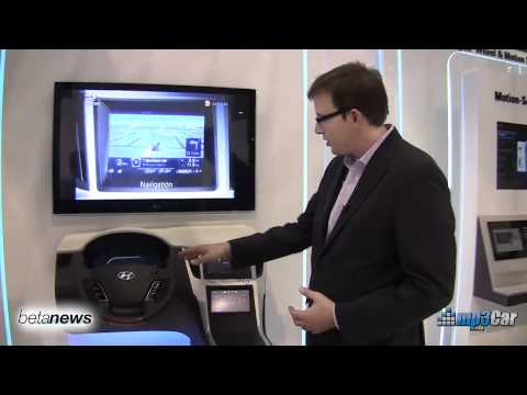 Hyundai Haptic Proof of Concept Uses PC - CES 2011