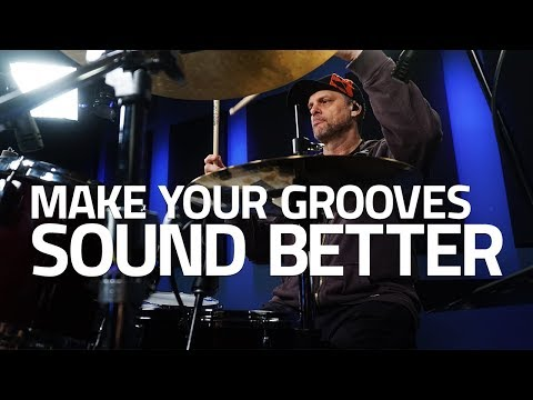 How To Make Your Grooves Sound Better - Randy Cooke