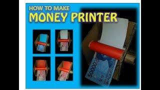 ✪ How to make MONEY PRINTER Machine at home ✪