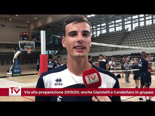 Via alla preparazione 2019/20, anche Giannelli e Candellaro in gruppo