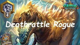 Hearthstone: NEW Deathrattle Rogue #3: Rastakhan's Rumble - Standard Constructed Post-Nerf