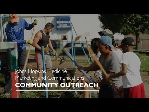 Community Outreach Program | Johns Hopkins Medicine Marketing & Communications