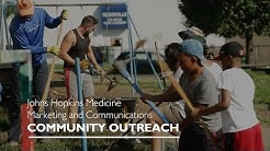 Community Outreach Program | Johns Hopkins Medicine Marketing & Communications