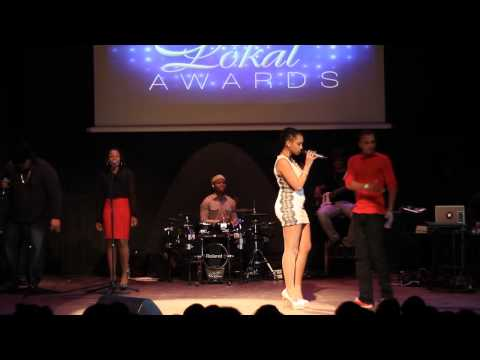 Lady Lao aux HIT LOKAL AWARDS 2013