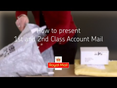 Help and support - How to present your 1st and 2nd Class Account Mail
