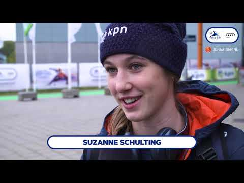 Audi ISU World Cup Shorttrack Dordrecht - Aankomst Nederlanders dag 1