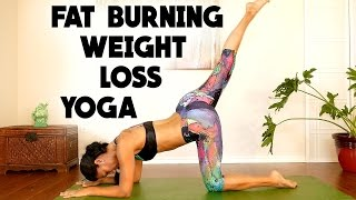 Yoga for Weight Loss & Belly Fat, Complete Beginners Fat Burning Workout at Home, Exercise Routi