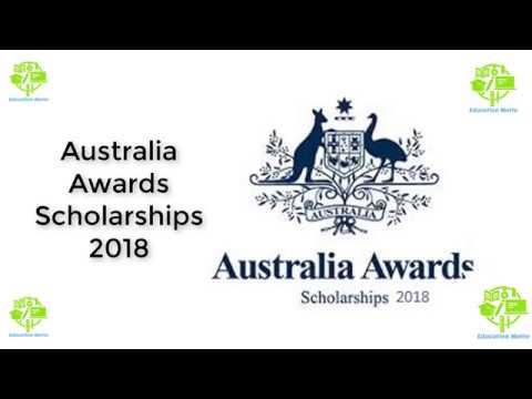 Australia Awards Scholarships 2018
