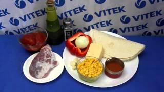 Рецепт приготовления энчиладас со свининой в мультиварке VITEK VT-4209 BW