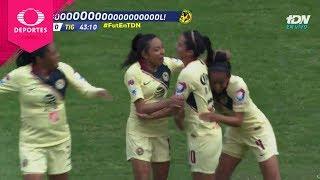 Golazo de Diana González | América 1 - 0 Tigres | Liga Mx Femenil - Final Ida | Televisa Deportes