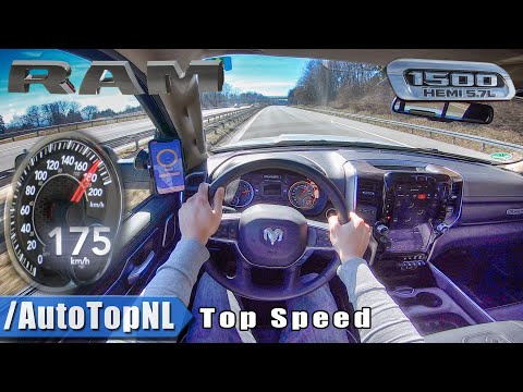 NEW! Dodge RAM 1500 HEMI 5.7 V8 AUTOBAHN POV TOP SPEED by AutoTopNL