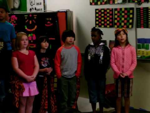 Mia Vigil - Armin Jahr Elementary School Play 5.28.2009 -