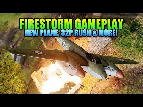 New Firestorm Gameplay + Rush Review, New Mosquito, Artillery Strike & More! | Battlefield 5