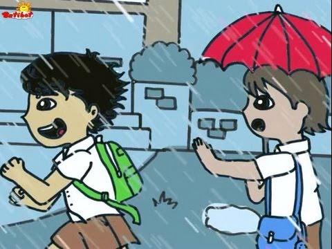 Si Pidoy At Si Gabo Sa Panahon Ng Tag ulan | Kuwentong Batibot | Batibot TV